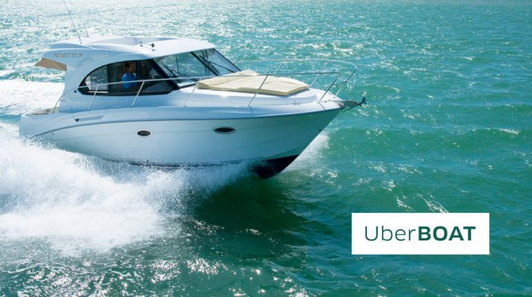 Arriva Uber Boat la svolta via mare inizia dalla Croazia